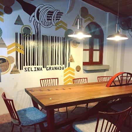 Selina Granada: Common Kitchen Area