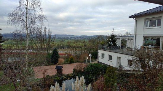 Hotel Bellevue: Zimmeraussicht