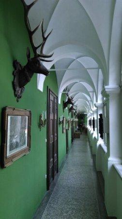 Feldbach, Oostenrijk: Arkadengang im Schloss Kornberg