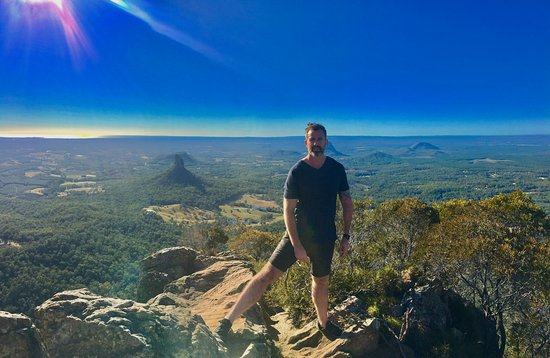 Саншайн-Коуст, Австралия: Morning climb to the top of the summit. Steep climb but worth it!