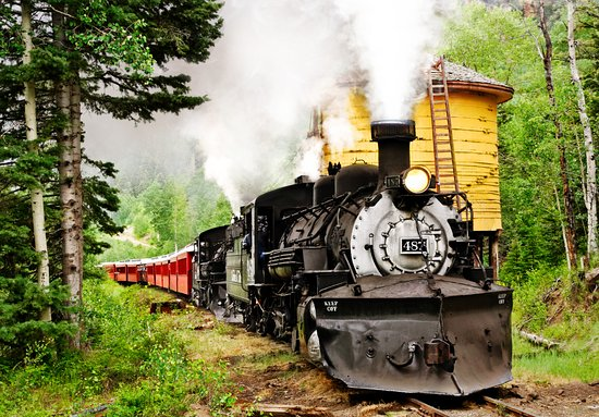 Chama, NM: Climb aboard our National Historic Landmark for a 64-mile day trip you'll never forget.