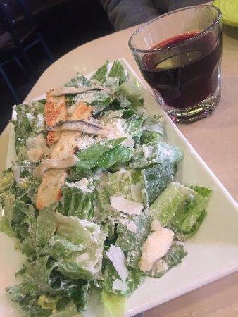 Tony's Pizza Napoletana: Caesar salad