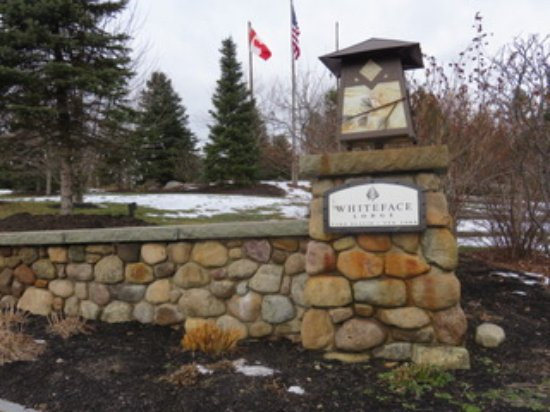 Entrance to the Whiteface Lodge