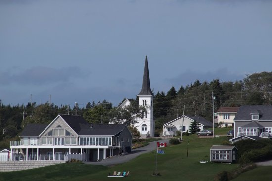 St. Peter's, Canada: It stands out from far