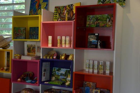 Interpretation Center Paul Gauguin: boutique