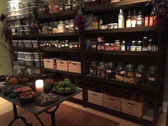 Lummi Island, WA: Pantry goals at Willows Inn