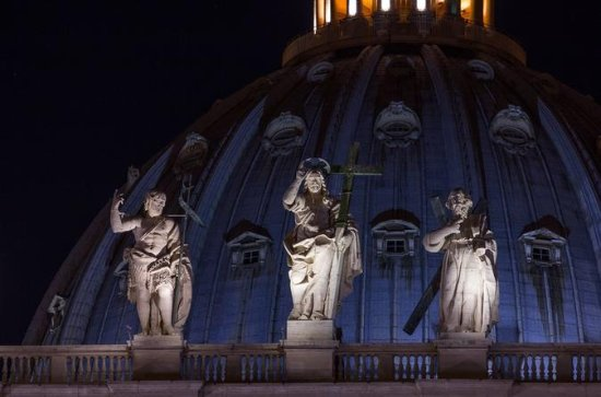 Tour of the Vatican by Night