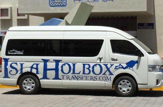 カンクン空港からホルボックスへの交通