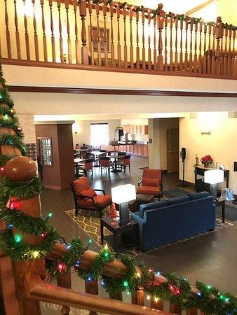 Comfort Inn DeForest lobby.