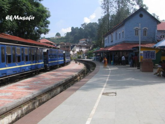 Heritage Train: Coonoor Station.