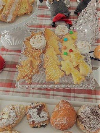 Palazzo Jannuzzi Relais : biscotti della colazione preparati con amore da Ariane