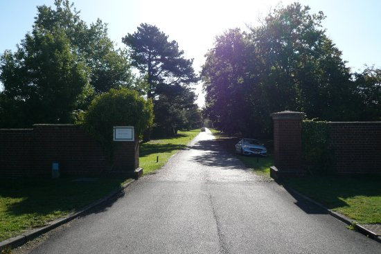 Feering, UK: The long entry