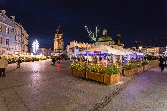 Market Square Garden At Christmas