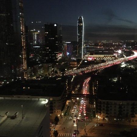 Hollywood Hotel: 夜景が素晴らしい