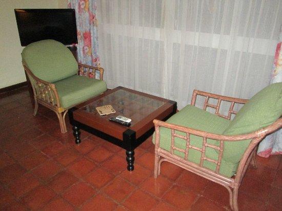 Club Palm Bay Hotel: Sitzecke