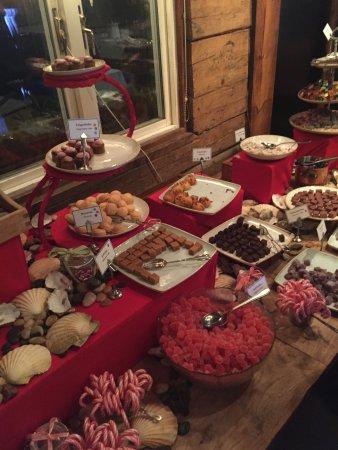 Christmas Buffet Dessert Sweet Table Picture Of Restaurang