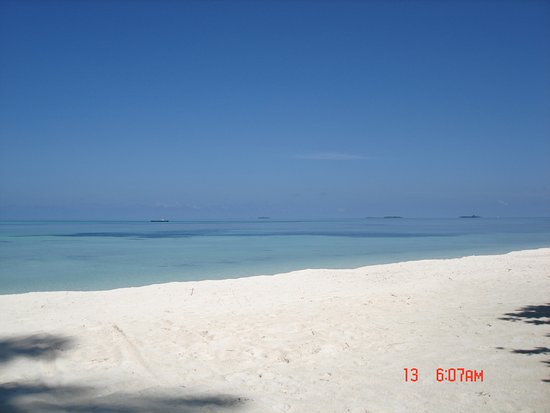 LUX South Ari Atoll: View fro the Villa 99% of the time