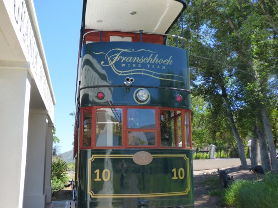 Franschhoek Wine Tram: The Tram