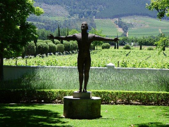 Franschhoek Wine Tram: garden ornament