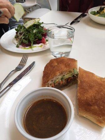 Terrace 5: short rib sandwich