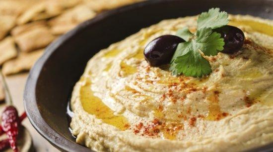 Jabal Al Noor Cafeteria: Hummus