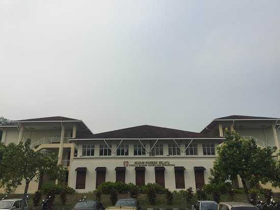 Sri Kembangan, Malasia: The museum building