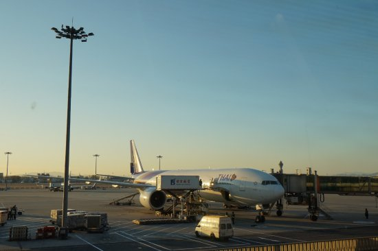Thai Airways: รอขึ้นเครื่องค่ะ