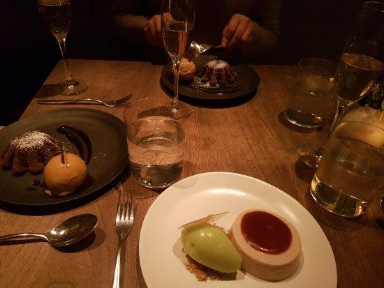 Jean Georges: 2017冬季米其林周的飯後甜點