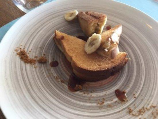 Pain Perdu A La Banane Picture Of Restaurant Les Baigneuses Royan