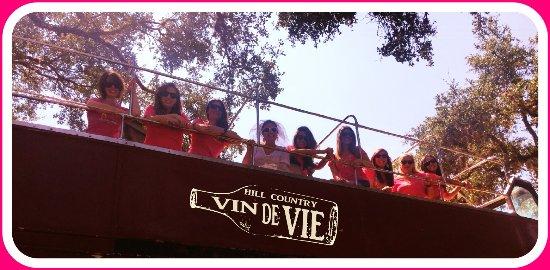 Vin de Vie Wine Tours: Party with the ladies!