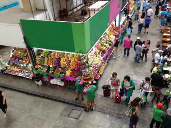 Municipal Market of Sao Paulo: frutas