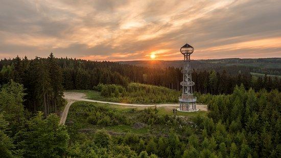 Карловарский край, Чехия: Rozhledna Cibulka nedaleko obce Oloví na Sokolovsku