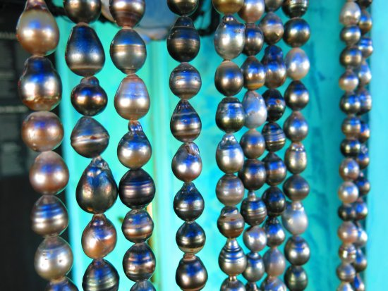 Musee de la Perle Robert WAN - The Robert WAN Pearl Museum: Rideau de Perles
