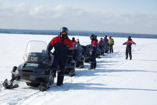 Stella Travel Company: Снегоходные туры в Карелии проводятся с середины декабря по конец марта