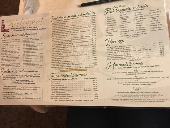 Mary Mac S Tea Room Atlanta Omd 246 Men Om Restauranger
