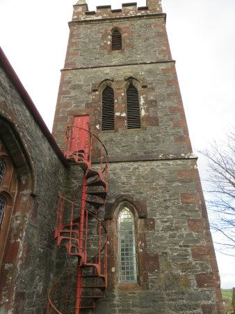 Kirkcudbright, UK: bell tower