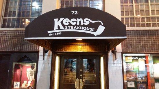 Keens Steakhouse: 킨즈스테이크하우스