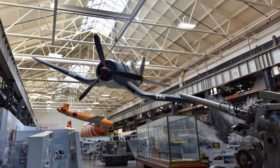 National Museum of the United States Navy : Artifacts are everywhere! Don't forget to look up.