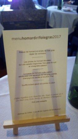 Montner, França: MENU HOMARD ET FOIE GRAS