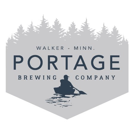 Walker, MN: Portage Brewing Company Logo