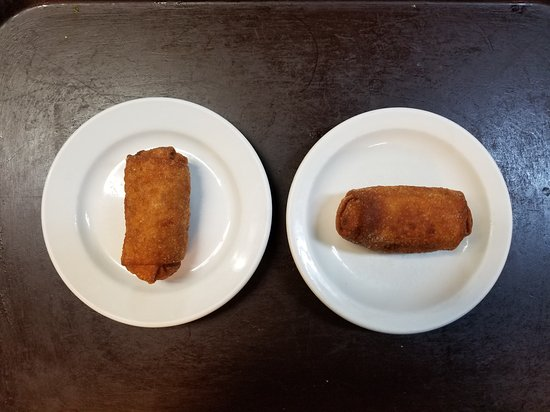 Howe, IN: Famous Egg Rolls.., yum yum.