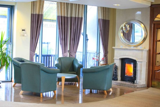 Glasson Country House Hotel & Golf Club: Relax a while in our comfy reception area
