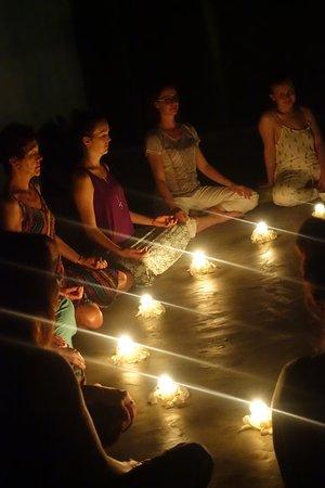 Pitiwella, Sri Lanka: Guided meditation