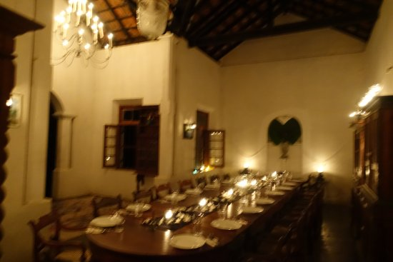Pitiwella, Sri Lanka: 110 year old family dining hall.