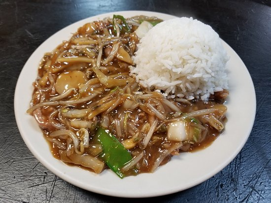 Howe, IN: Bean Sprout Beef Chop Suey.