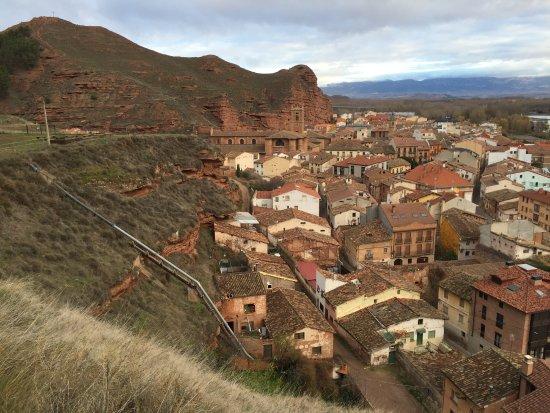 Najera, İspanya: Vistas desde el Alcazar de Nájera