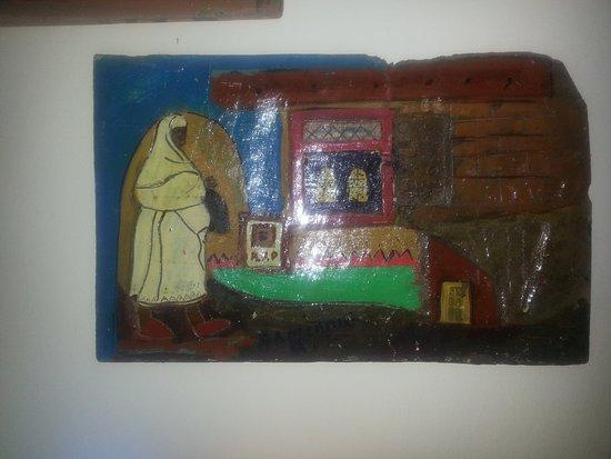 Dar KamalChaoui: sculpture sur Bois, maison d'hôtes à Bhalil Dar Kamal Chaoui