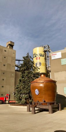 Entrance to the Coors Brewery Tour.