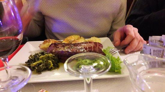 Chatillon, Francia: Viande Barrosa