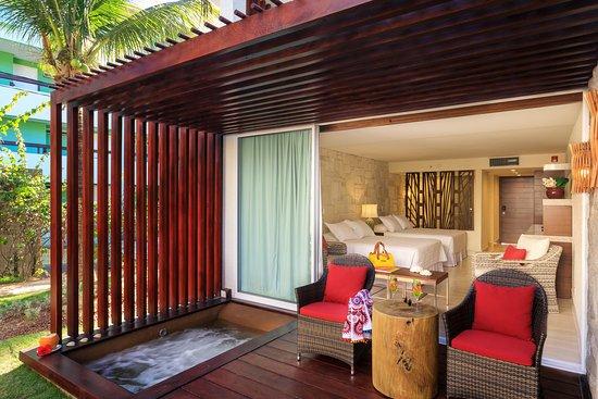 Porto de Galinhas Praia Hotel: Suite Master com hidromassagem